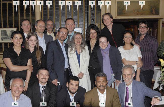 Participants et organisateurs
